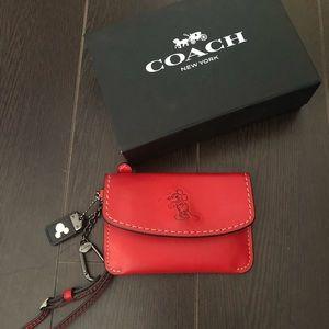 Coach Accessories - COACH - Disney Collection 2017 Wristlet